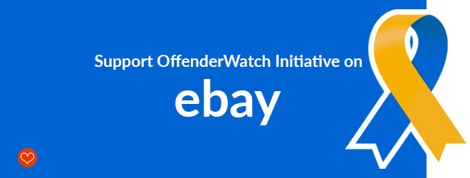 Support OffenderWatch Initiative on eBay!